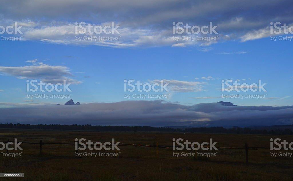 Teton Peaks Revealed stock photo
