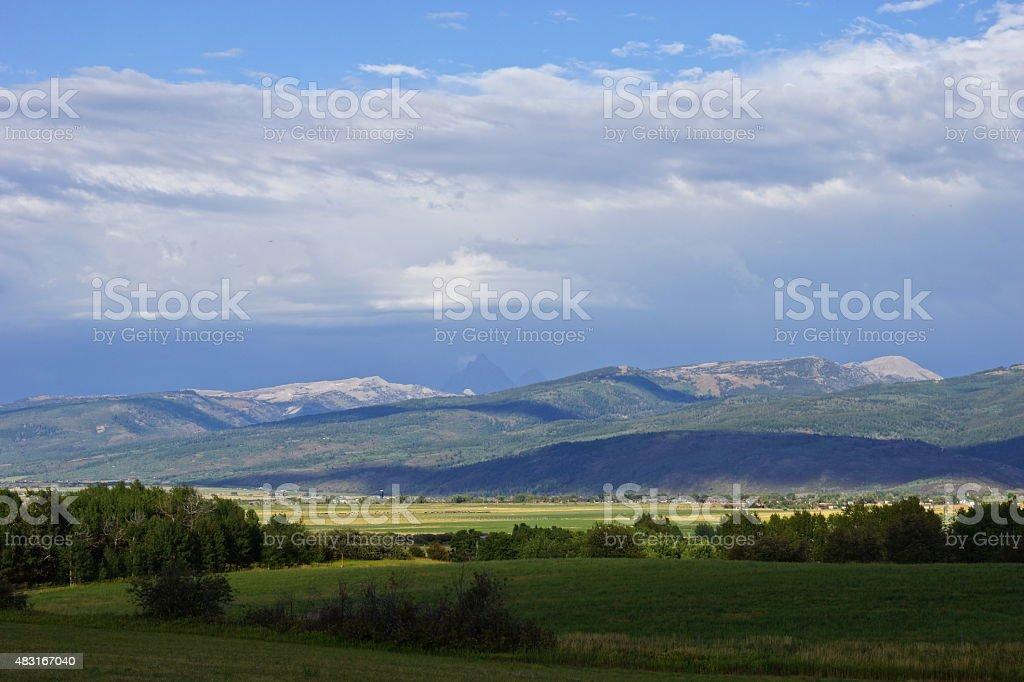 Teton Valley stock photo