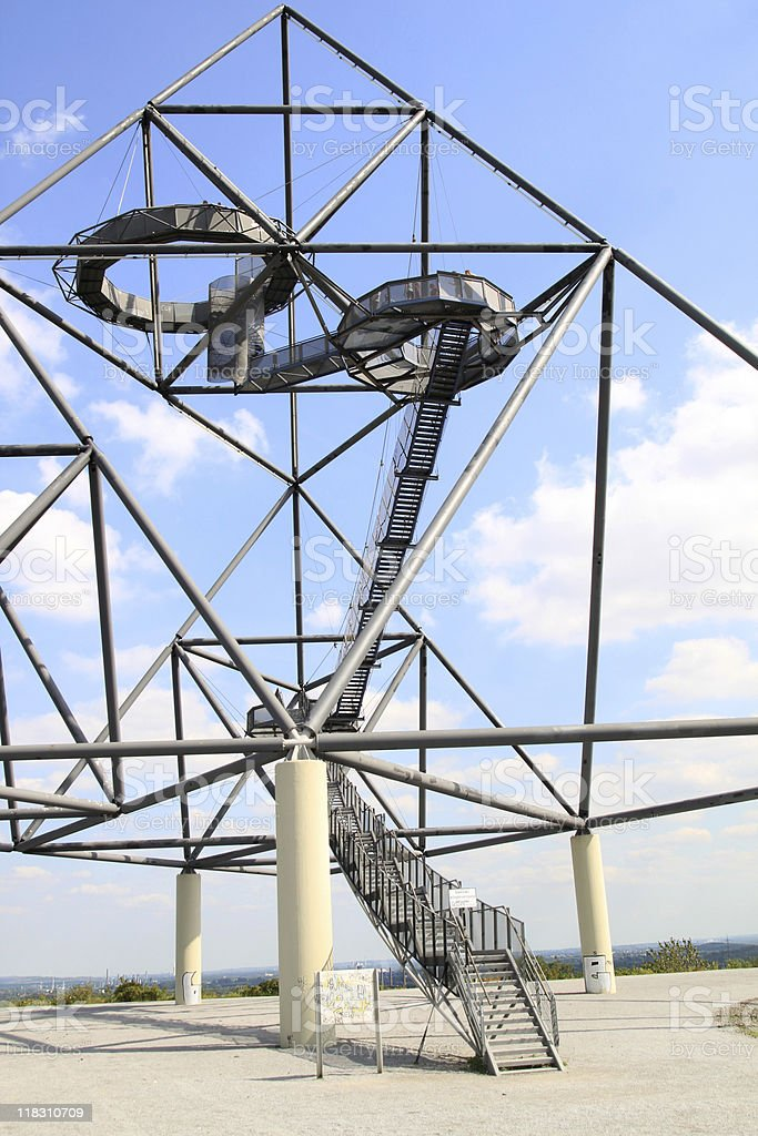 Tetraeder Bottrop royalty-free stock photo
