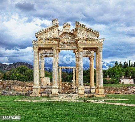 istock Tetrapylon of Aphrodisias 635870356