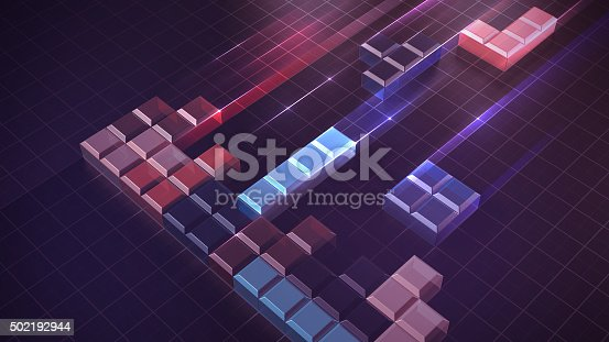 istock Tetris blocks concept of building and problem solving 502192944