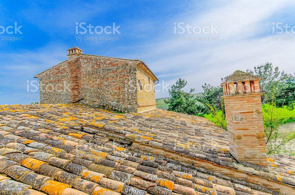 tetto landscape stock photo