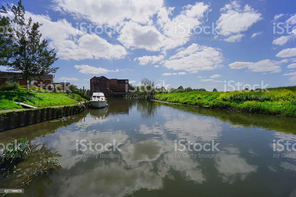 tewkesbury stock photo