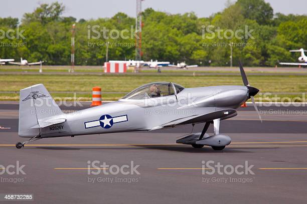 """""""Manassas, USA - May 6, 2011: AT-6 Texan taking off at Manassas Air Show on May 6, 2011. This show brings over 50 historic military planes, helicopters and experimental aircraft, as well as 10 military vehicles to Manassas Regional Airport."""""""