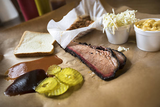 Texas BBQ stock photo
