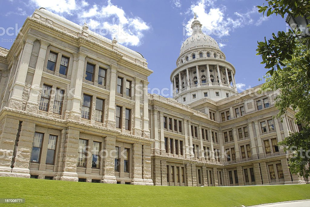 Texas Capitol Building stock photo