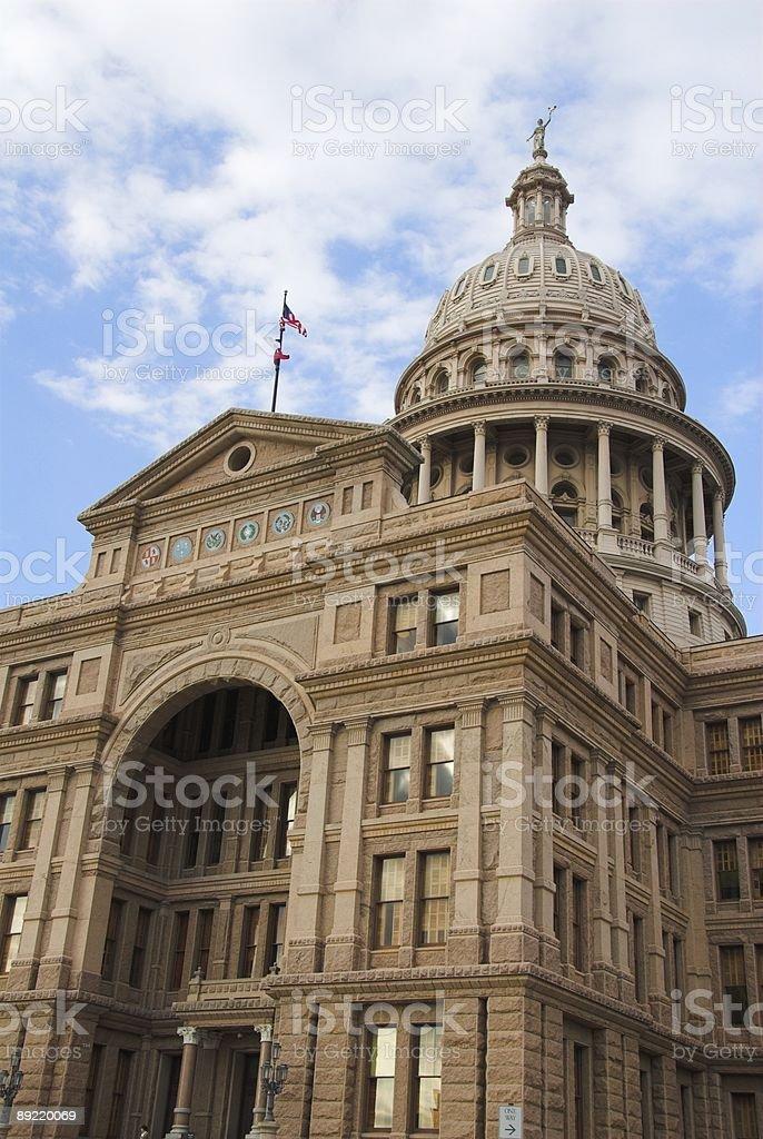 Texas Captial Building stock photo