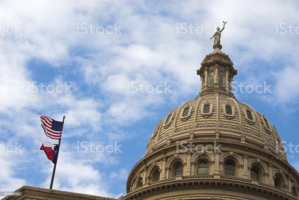 Texas Captial Dome stock photo