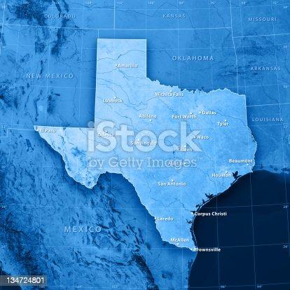 186815169istockphoto Texas Cities Topographic Map 134724801