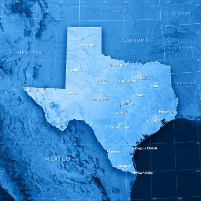 186815169 istock photo Texas Cities Topographic Map 134724801