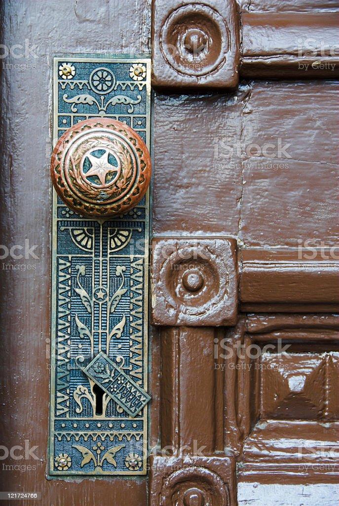 Texas Doorknob stock photo