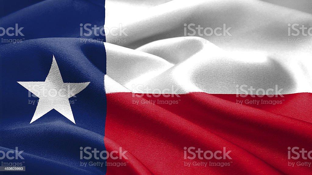 Texas flag Saludar con la mano - foto de stock