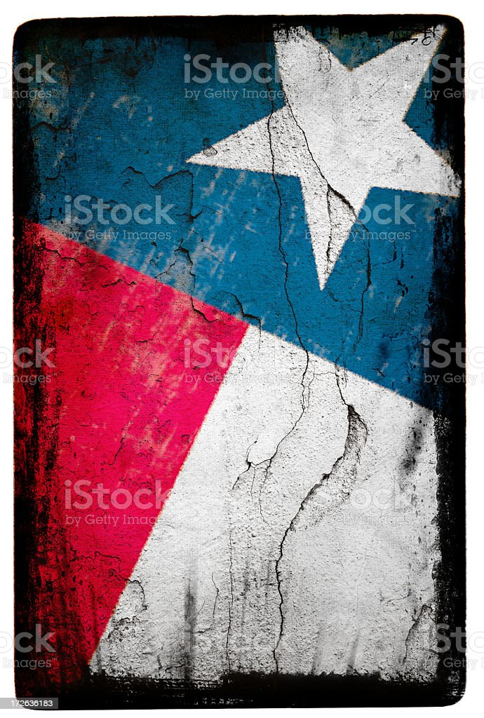 Texas Flag XXL royalty-free stock photo