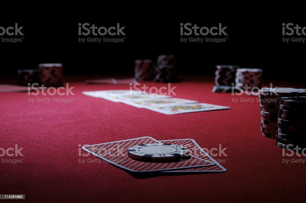 Texas Hold'em... royalty-free stock photo