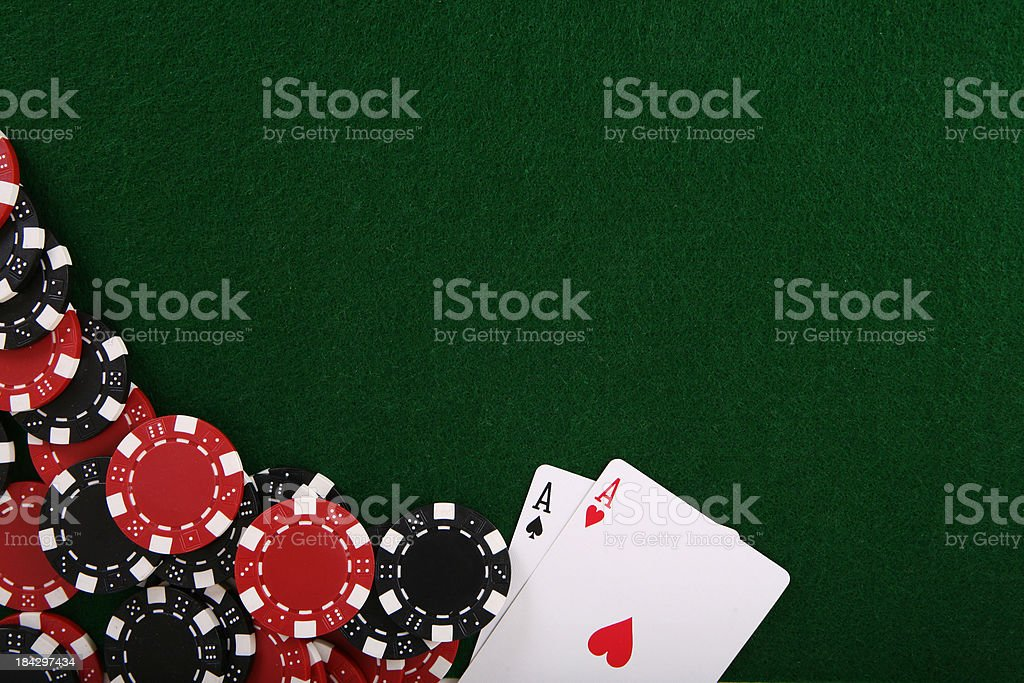 Texas Holdem stock photo
