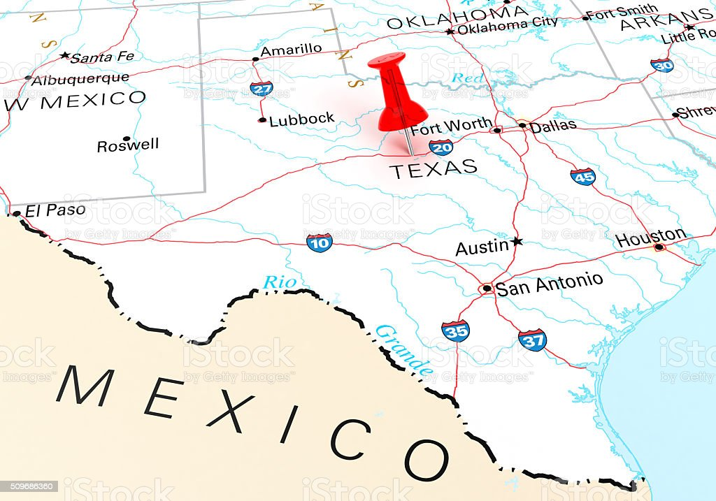 Royalty Free Texas Map Pictures Images and Stock Photos iStock