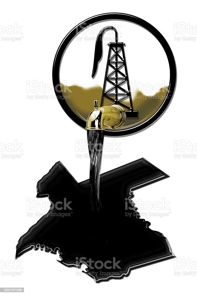 Texas Oil stock photo