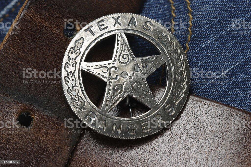 Texas Rangers Star royalty-free stock photo