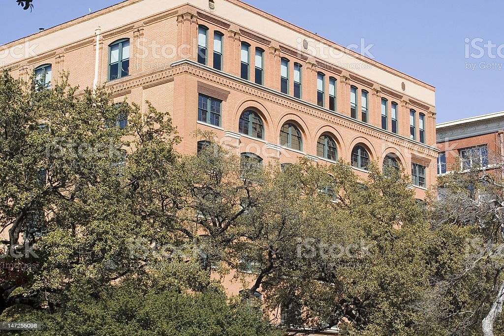 Texas School Book Depository stock photo