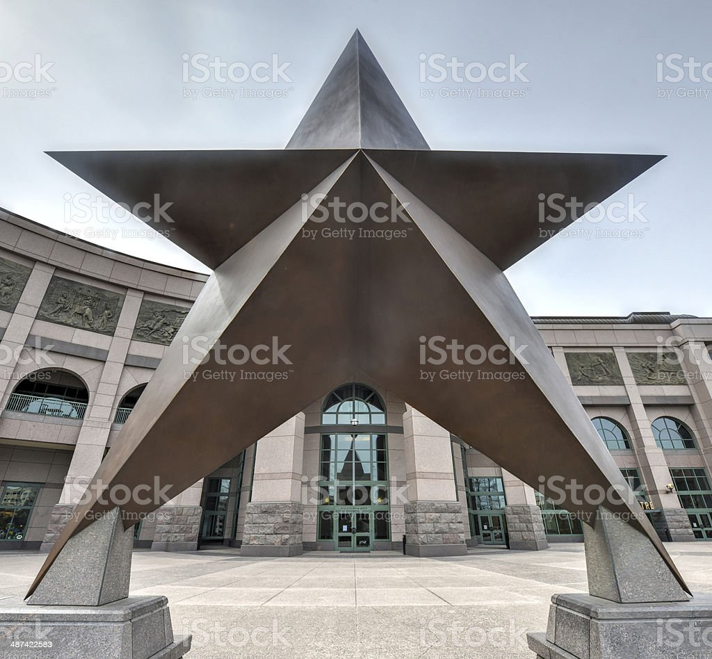Texas Star stock photo