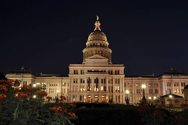 Texas State Capital Building stock photo