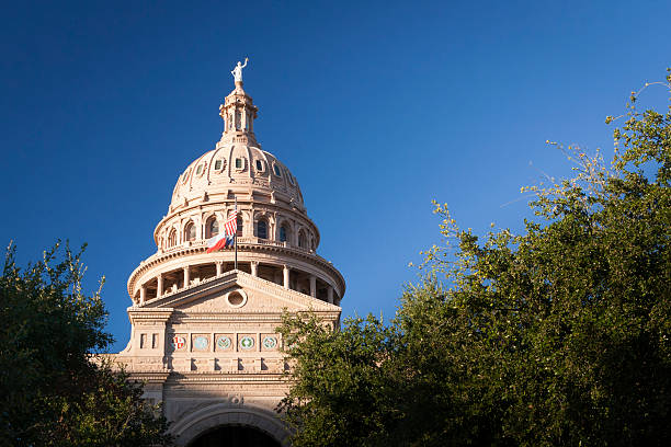 Texas State Capitol Building Dome stock photo