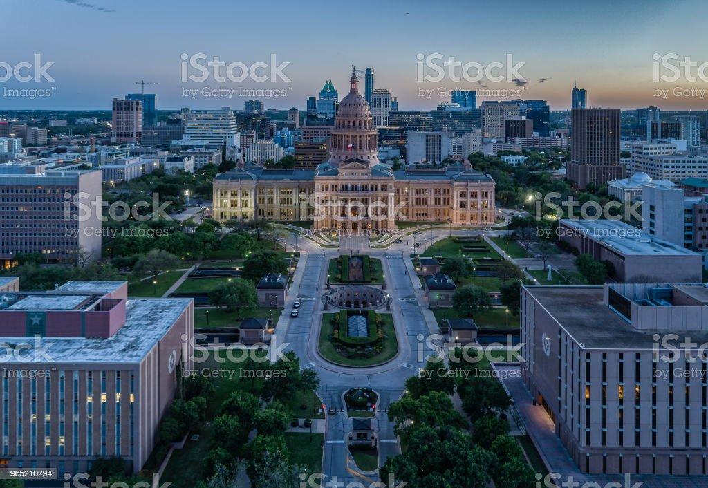 Texas State Capitol in Austin, Texas zbiór zdjęć royalty-free