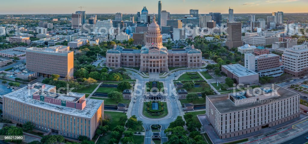 Texas State Capitol in Austin, Texas royalty-free stock photo