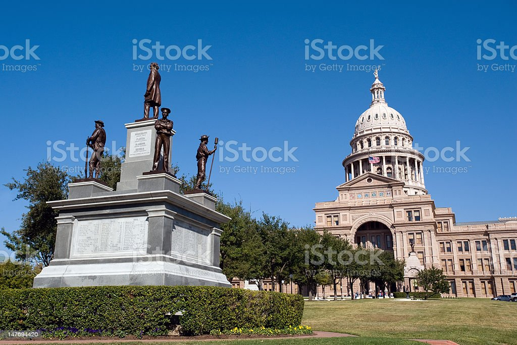 Texas State Capitol stock photo