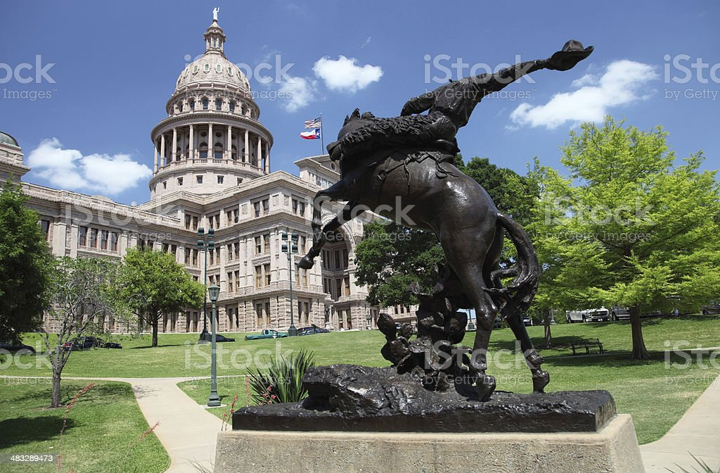 Texas State Capitol royalty-free stock photo