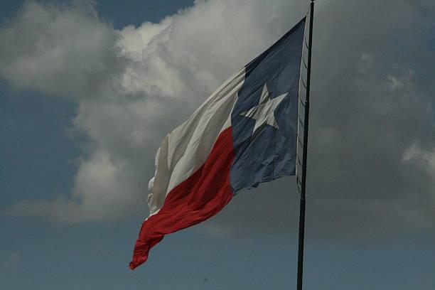 Texas State Flag stock photo