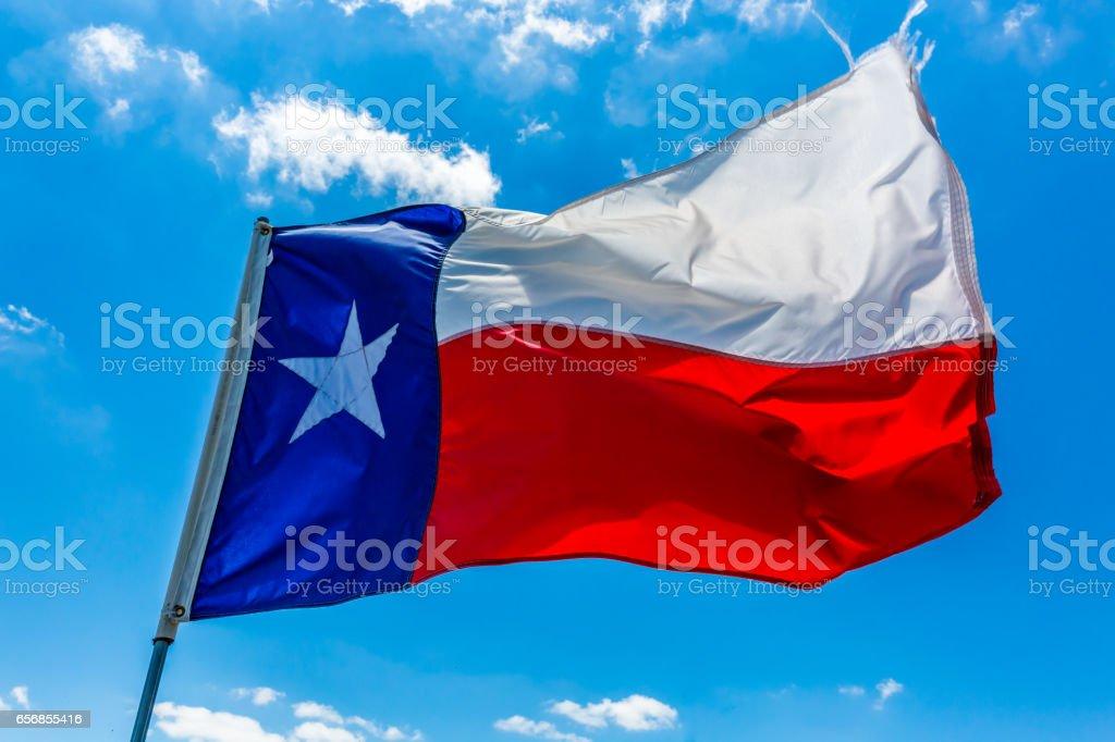 Bandera de Texas - foto de stock