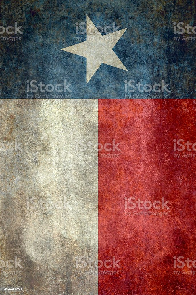 Bandera de Texas vintage retro banner versión - foto de stock
