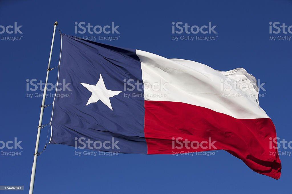 Bandera del estado de Texas - foto de stock