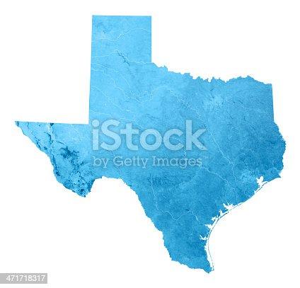 173169385istockphoto Texas Topographic Map Isolated 471718317