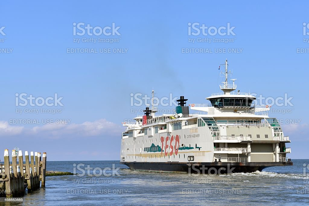 Texel Ferry royalty-free stock photo