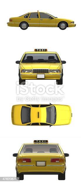 istock texi car 3d 476208712