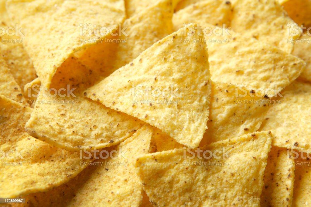 TexMex Food: Nachos royalty-free stock photo