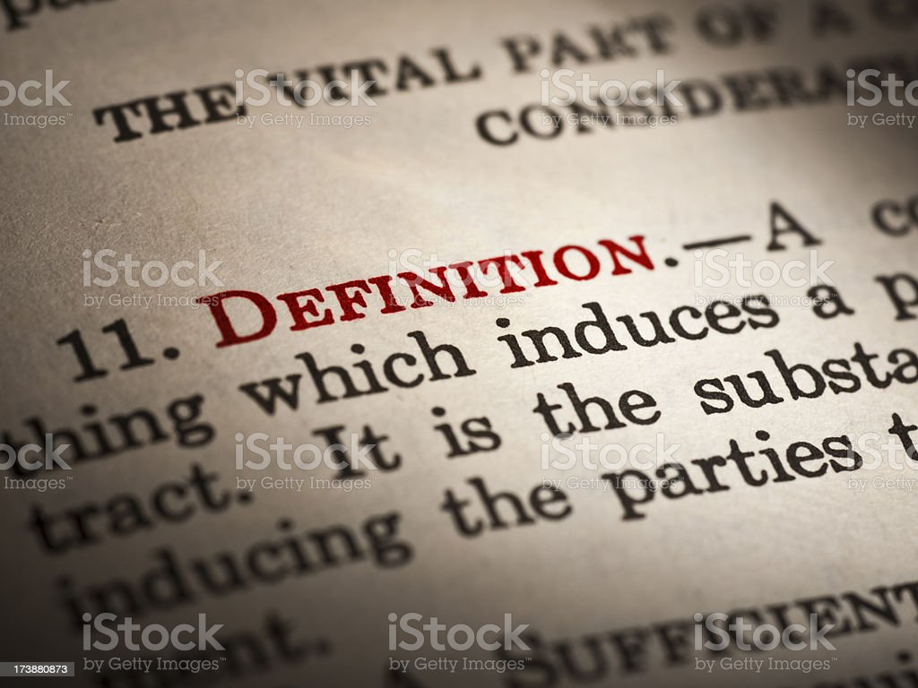 Text book word close-up royalty-free stock photo