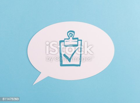 1146949110istockphoto Text Bubble with symbol 511475263