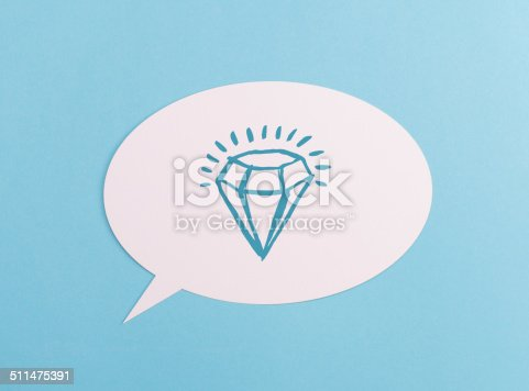 1146949110istockphoto Text Bubble with symbol 511475391