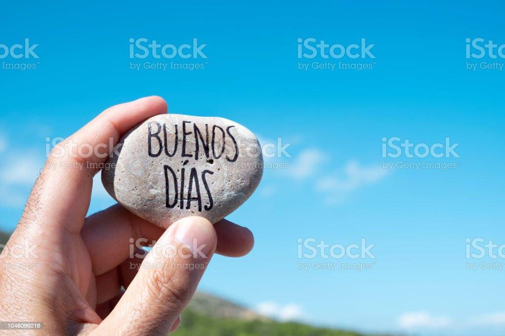 Foto De Texto Buenos Dias Bom Dia Em Espanhol E Mais Fotos