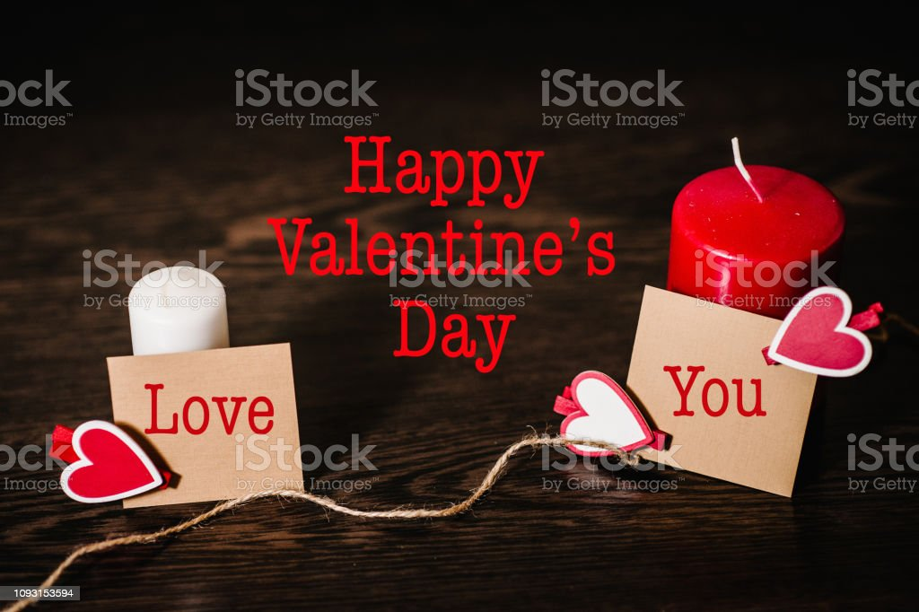 Text happy Valentine\'s Day. Space for text. Writing romantic letters...