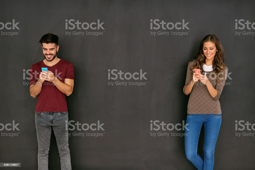 Text me stock photo