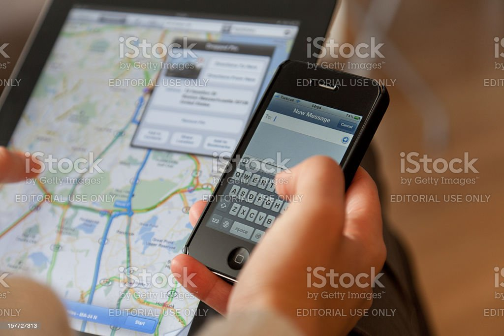 Text message royalty-free stock photo