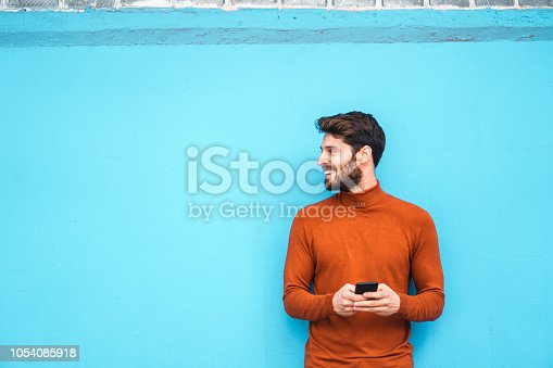 istock Text messaging. 1054085918