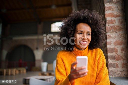 istock Text messaging. 944558710