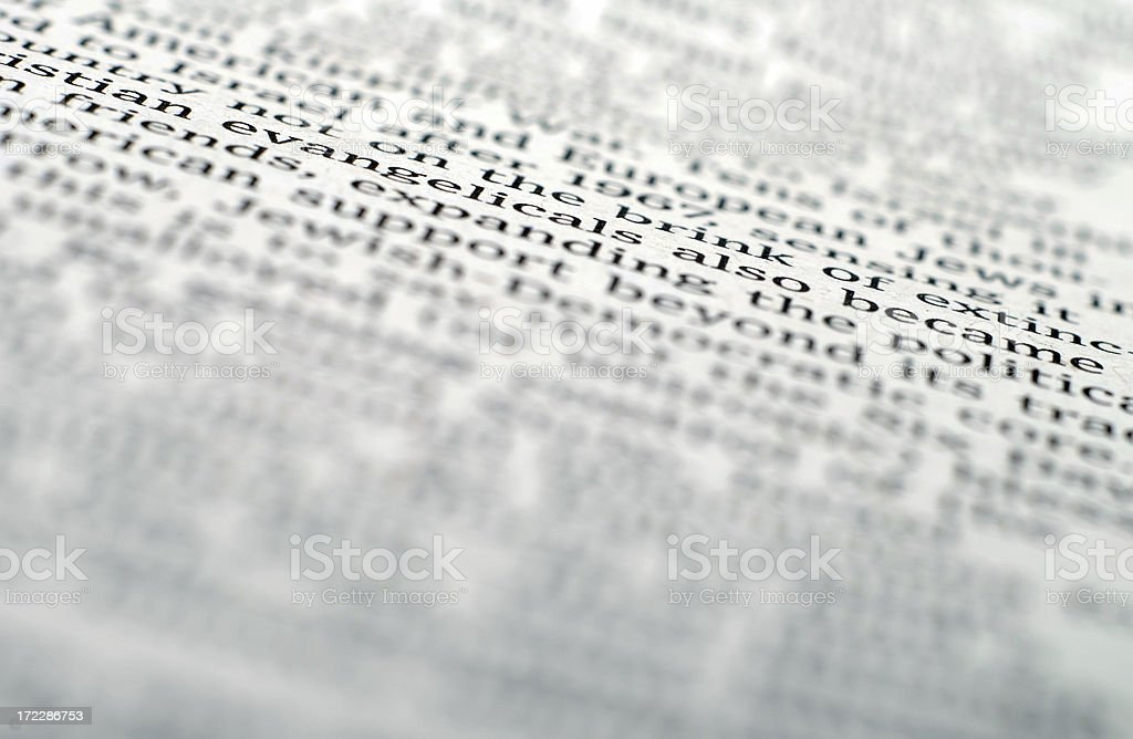 Text stock photo