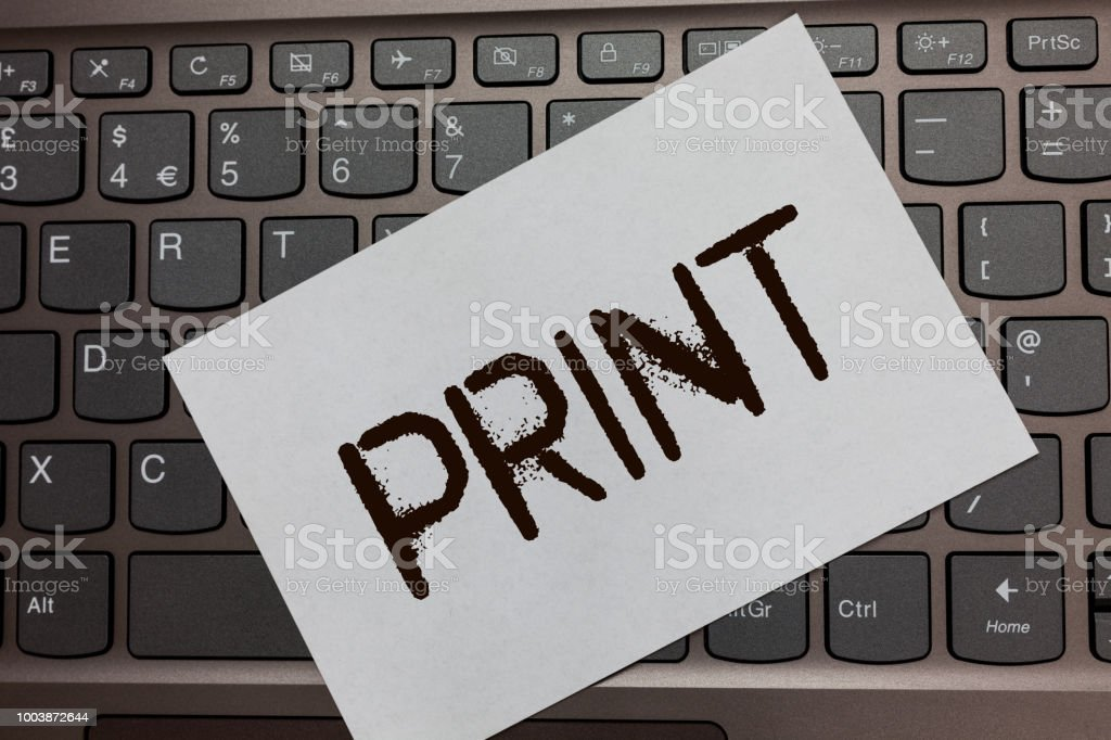 Text Sign Showing Print Conceptual Photo Produce Letter Numbers