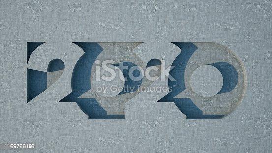 istock 2020 Text with Concrete 1169766166